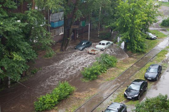 Череповец, как после наводнения!