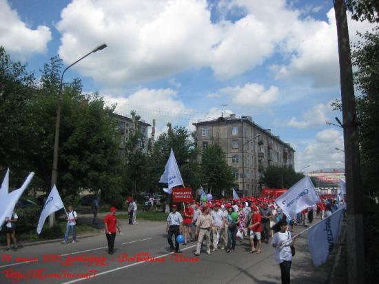 День металлурга в Череповце