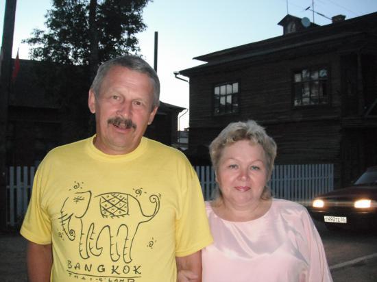 Супруги Хаповы. Андрей Михайлович и Наталья Николаена, всегда вместе
