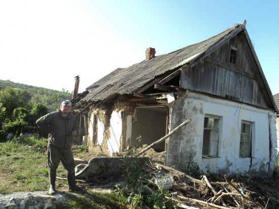 Вологжане в Крымске. Нижняя Баканка