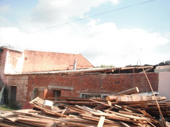 скоро будем с новой крышей