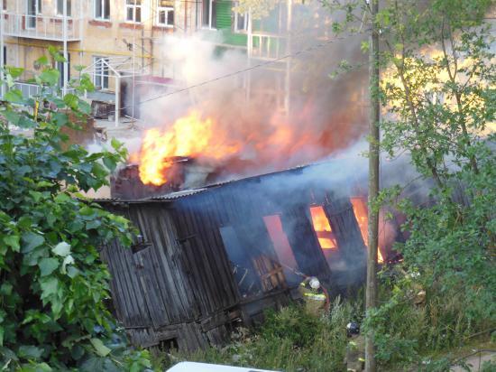 Пожар Московская, 19