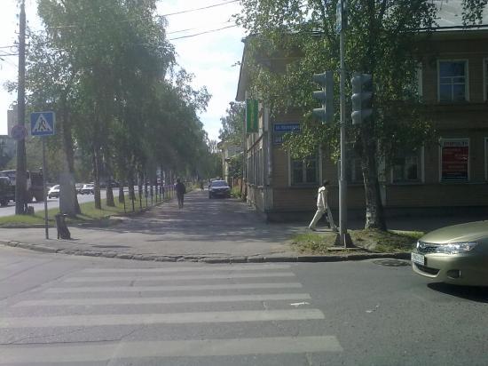 перекресток Козленской и Предтеченской