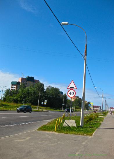 Та самая улица Городецкая , где стоит этот знак