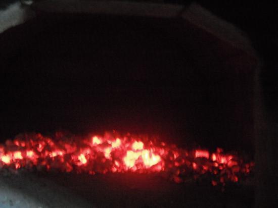 печка готова к приёму продукции из