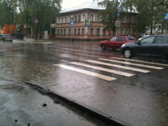 и как переходить улицу???