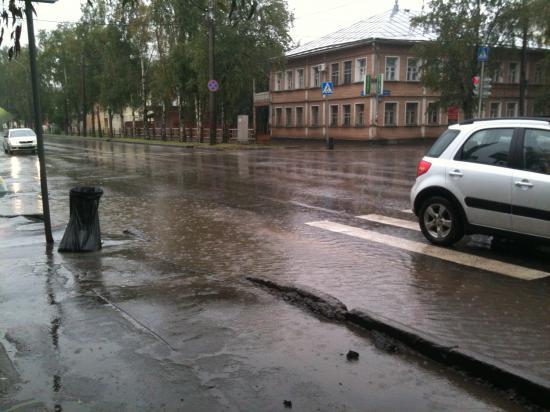 Мокрое дело. Продолжение Козленской.