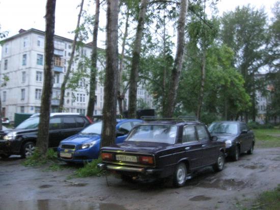 Череповец, паркуюсь как хочу!