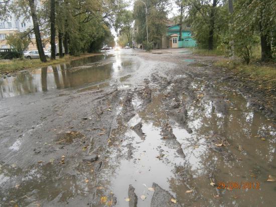 поворот ул. Мохова-Октябрьская