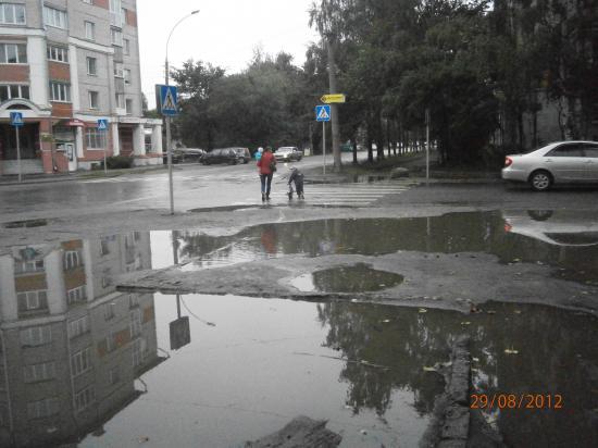 пешеходный переход по ул. Октябрьская- Пролетарская