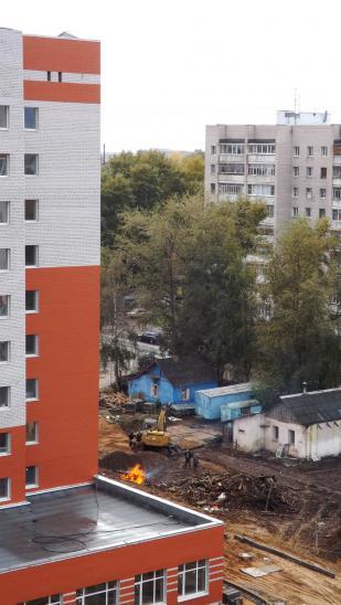 Последние домики старого Ковырина скоро исчезнут с лица земли, и эта фотография станет музейной редкостью (шучу)))