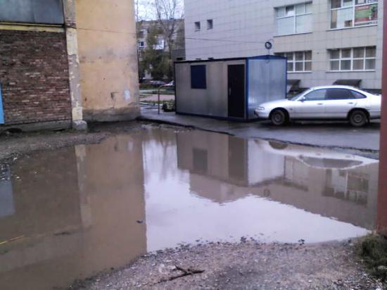 Непроходимые тротуары города Вологды