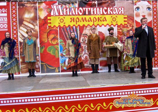 Выступление мэра города Череповца Юрия Кузина.