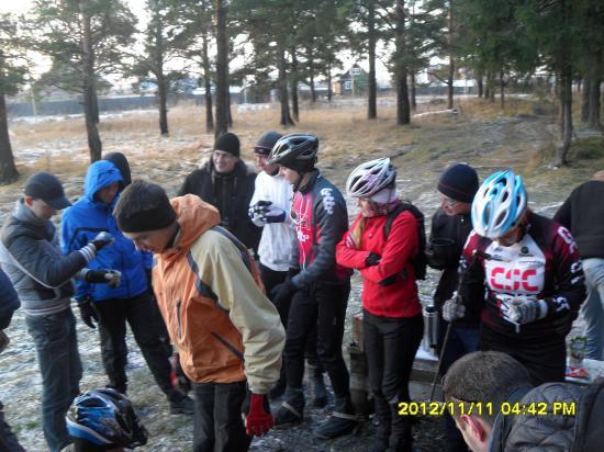 Закрытие сезона прошло у вологодских велосипедистов