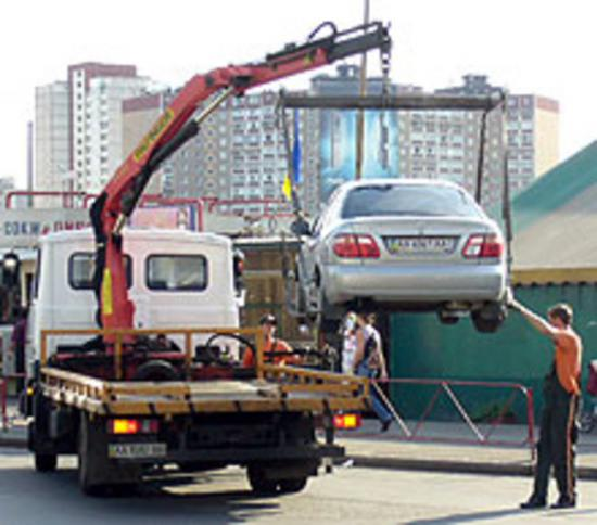Осторожно, за вашими машинами охотятся  эвакуаторы!