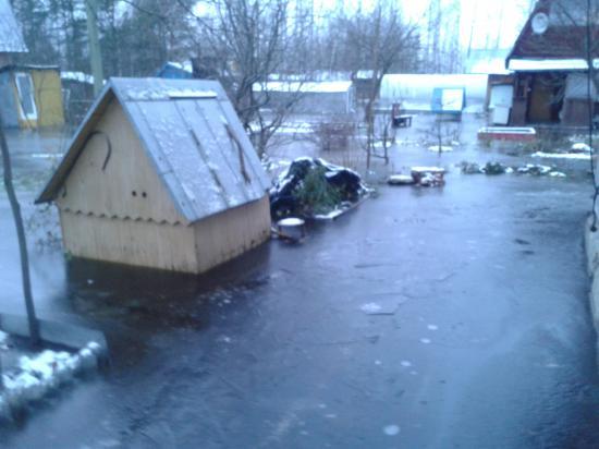12.11.2012 г. Максимальный уровень - ночью был мороз.