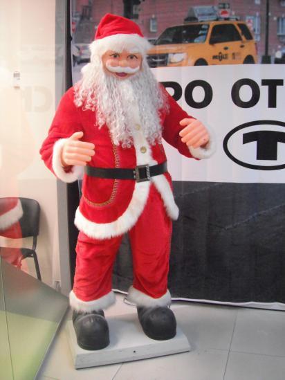 здравствуй, дедушка мороз! ой нет, как там тебя, вроде, Санта Клаус? а где наш-то мороз, заблудился что-ли....