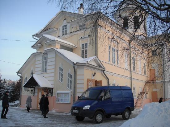 Вологодский Кафедральный собор,здесь прошло отпевание  писателя Василия Белова.