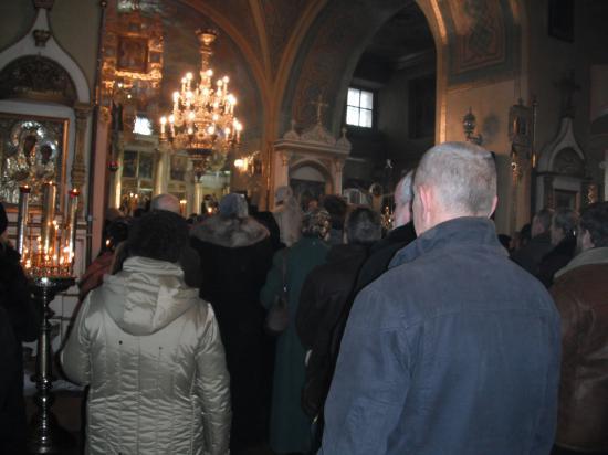 отпевание в кафедральном соборе