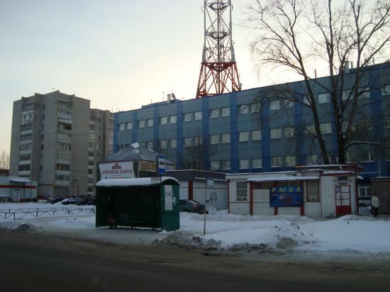 Улица Щетинина.Остановка Гагарина (бывшая АТС)