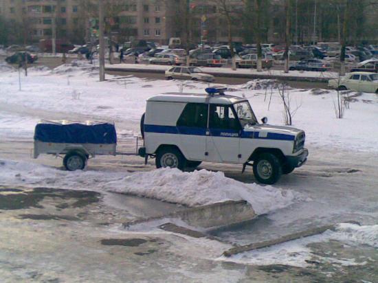 Новогодний подарок от Вологодской полиции