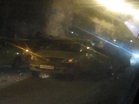 Авария в Вологде. Пять машин.