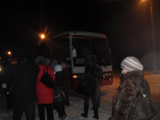 Новогоднее путешествие Кубенского автобуса