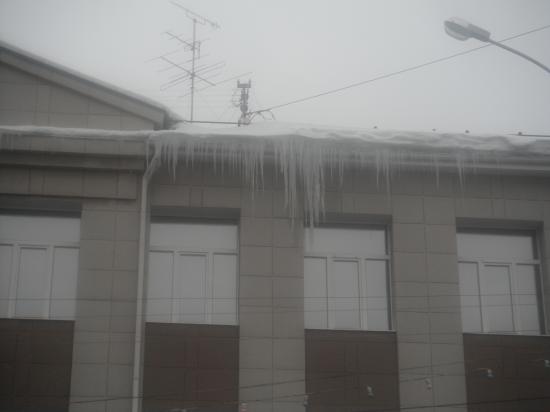 В ледяном плену.