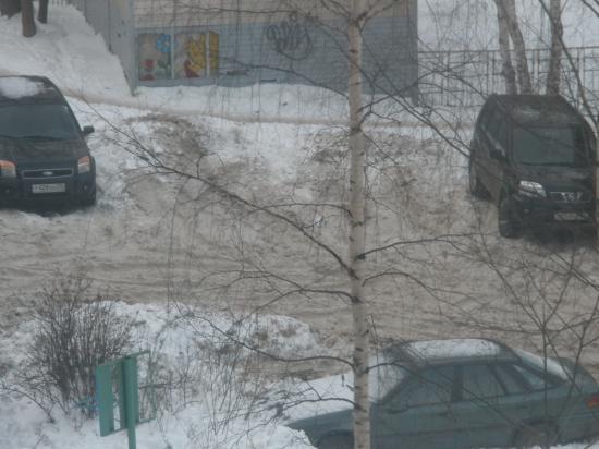 Двор-позор: ул. Герцена, 121 УК