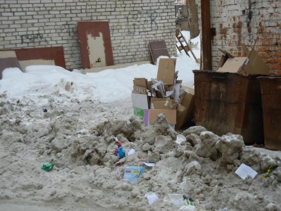 Двор-позор: Козленская, 35