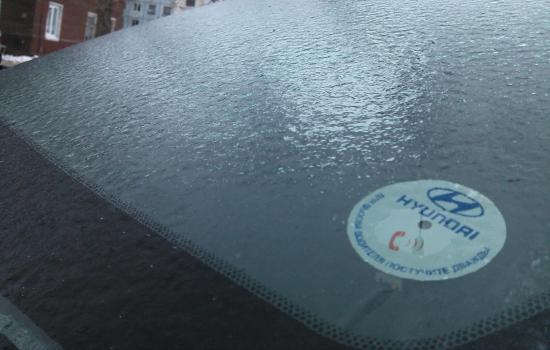 Последствия ледяного дождя в Вологде