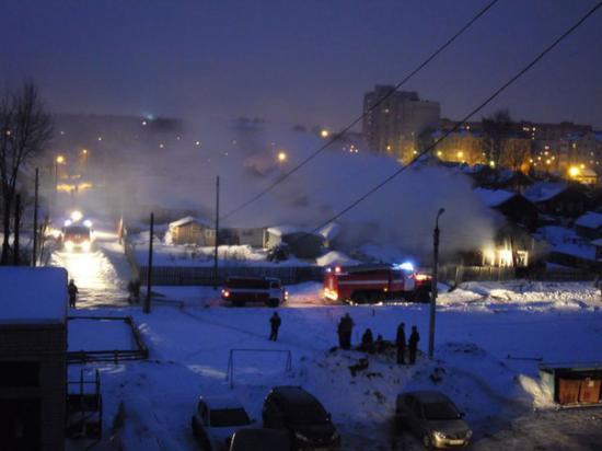 Пожар в Кулацком поселке