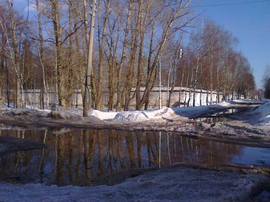 У Михайло-Архангельского монастыря