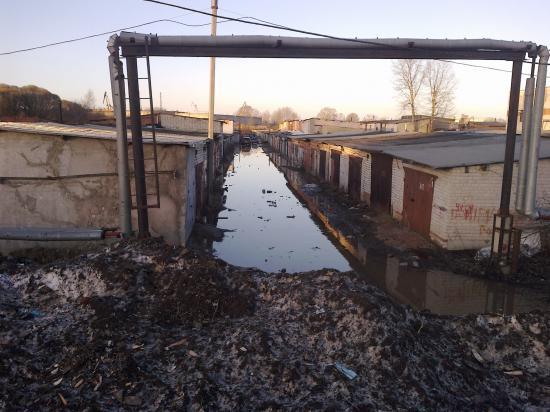 Паводок в Вологде
