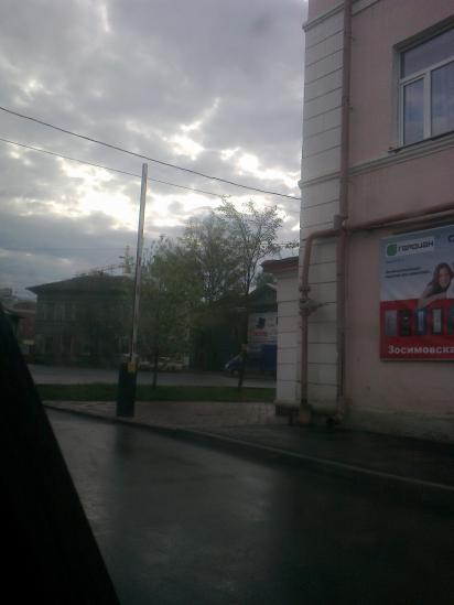 Установка шлагбаума во дворах Зосимовская 20,32