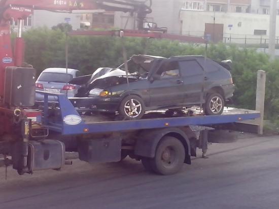 То, что осталось от машины