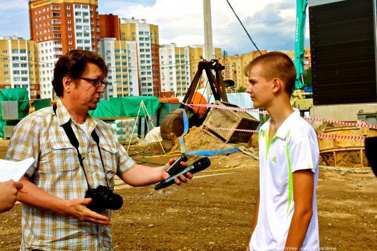 интервью у победителя.
