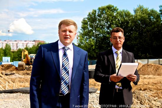 выступление мэра города Череповца