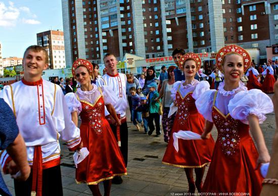 День России в Череповце