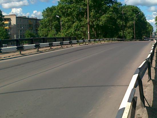 Мост на Панкратова отремонтировали