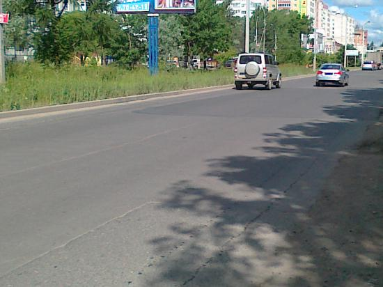 Ямочный ремонт на ул.Ярославской