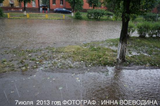 Наводнение в Череповце