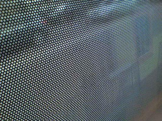 Полностью заклееные окна с сеткой