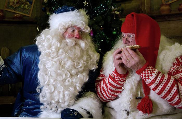 Дед Мороз продолжает предновогоднее путешествие