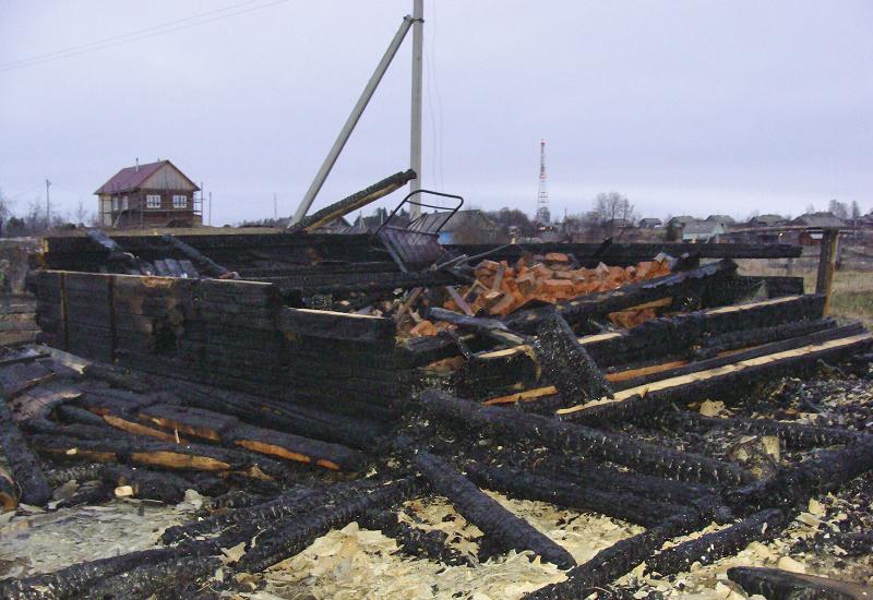 При пожаре в селе Ошта погибли шесть лесозаготовителей