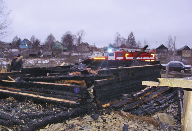 Подробности пожара в Оште: погибли рабочие-лесозаготовители