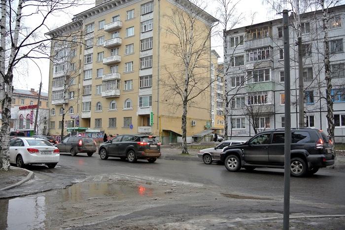 Улица Козлёнская в Вологде снова стала двусторонней