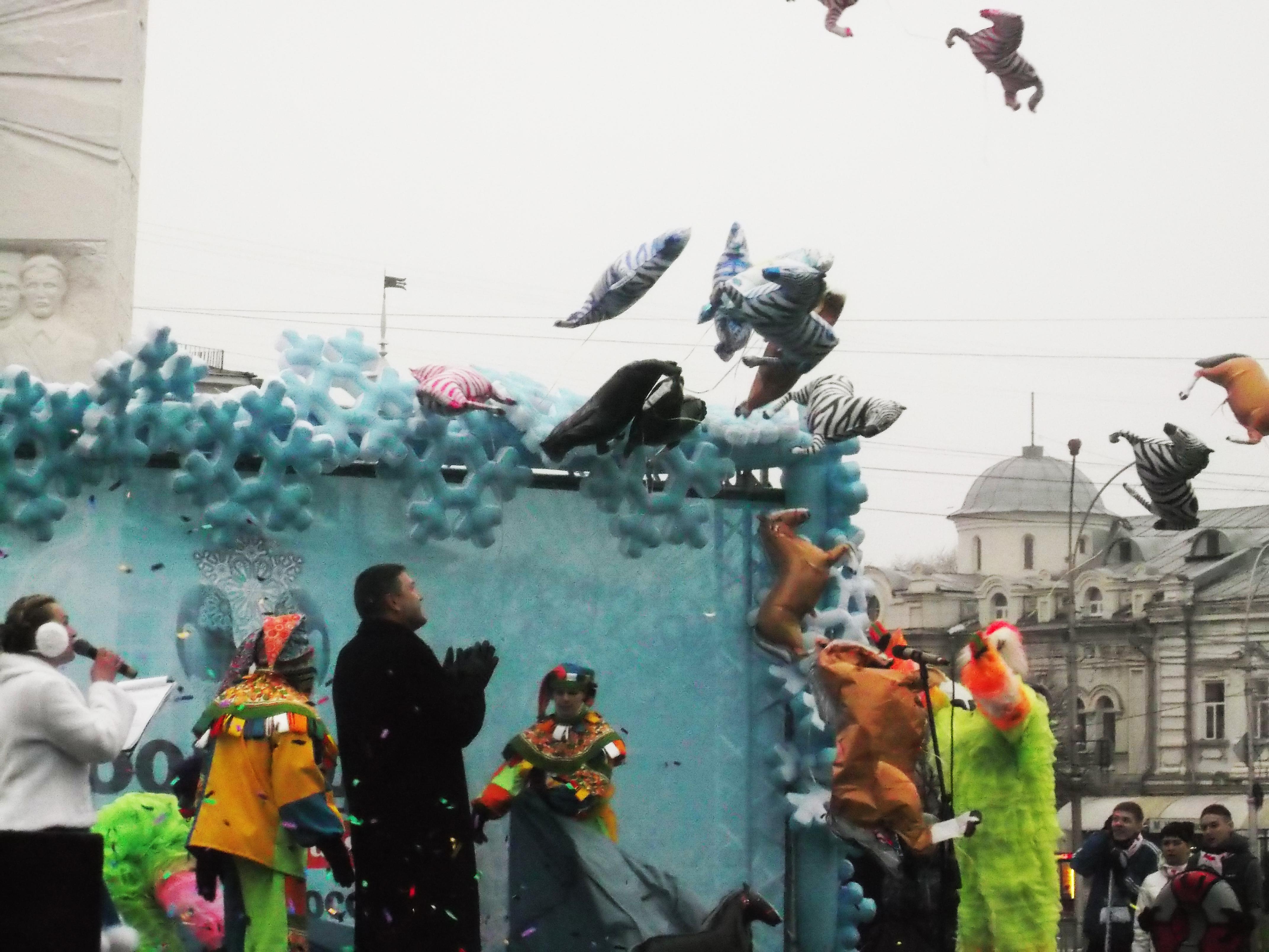 В Вологде дан старт Новому году