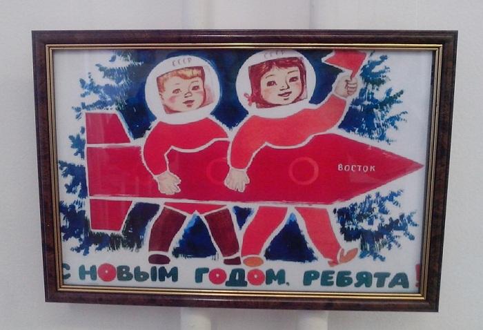 В музее Можайского встречают Новый год с самолетами и спутниками