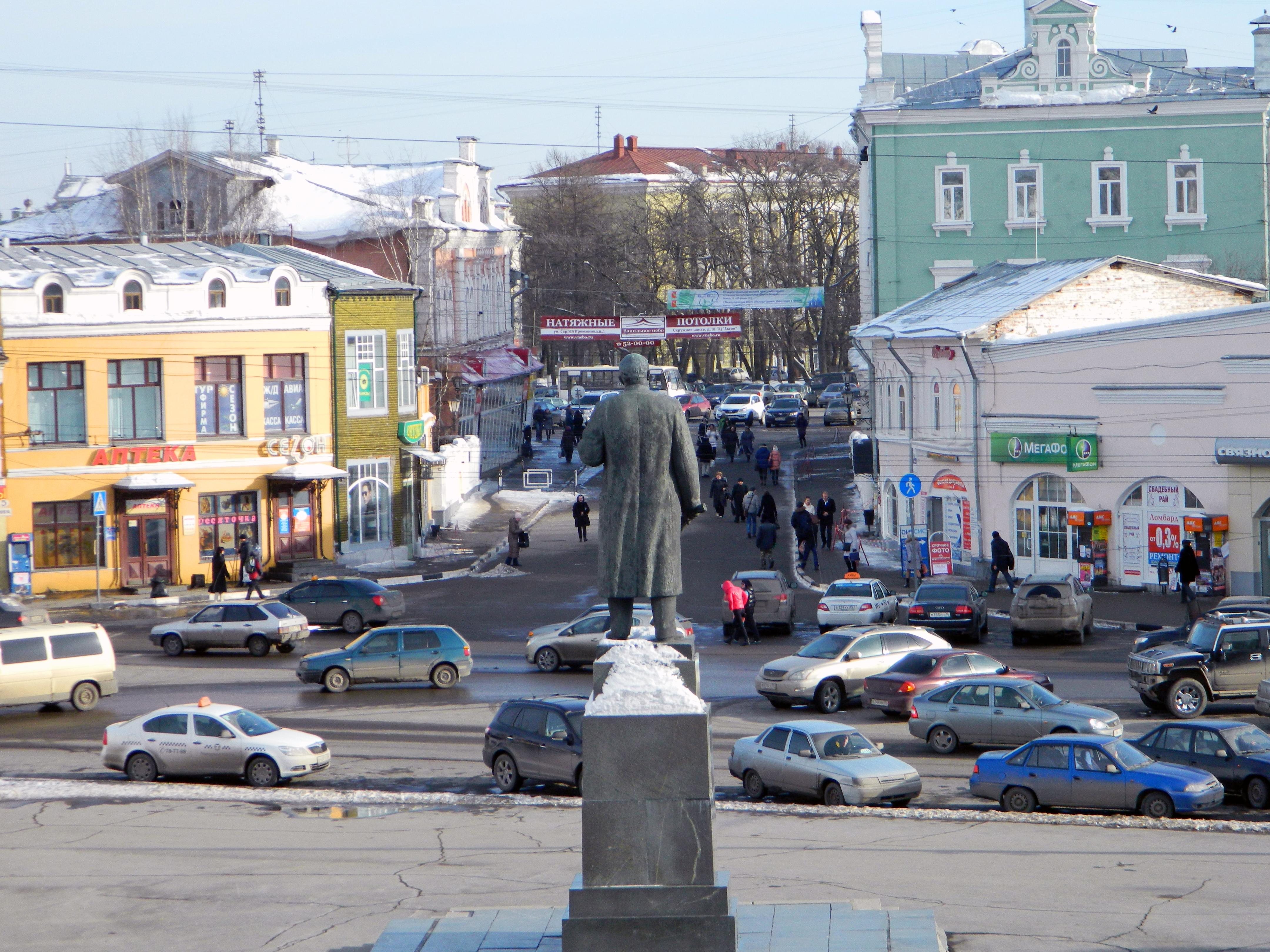 31 декабря центр Вологды будет ограничен для транспорта
